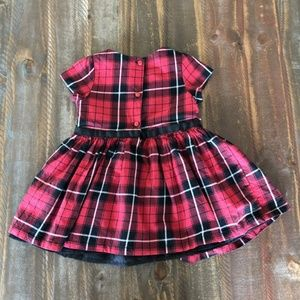 Children's Place Dresses - *2/$10* Red Plaid Holiday Dress